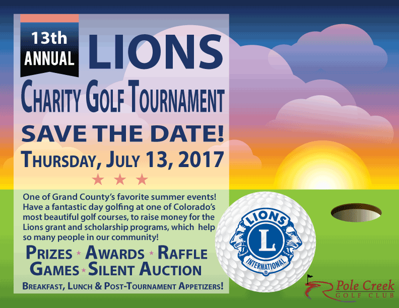 2017 Lions Charity Golf Tournament @ Pole Creek Golf Club | Tabernash | Colorado | United States